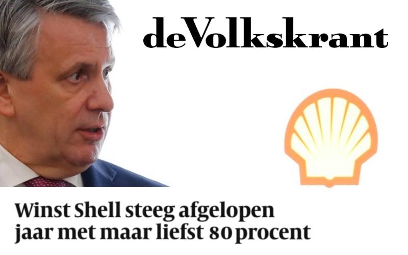 Winst Shell steeg afgelopen jaar met maar liefst 80 procent