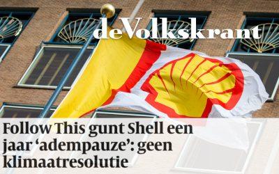 Follow This gunt Shell een jaar 'adempauze': geen klimaatresolutie