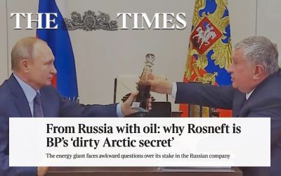 From Russia with oil: why Rosneft is BP's 'dirty Arctic secret
