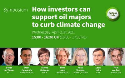 Follow This Symposium | How investors can support oil majors to curb climate change